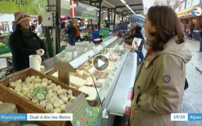 Samedi… C'est jour de marché à Aix-les-Bains !